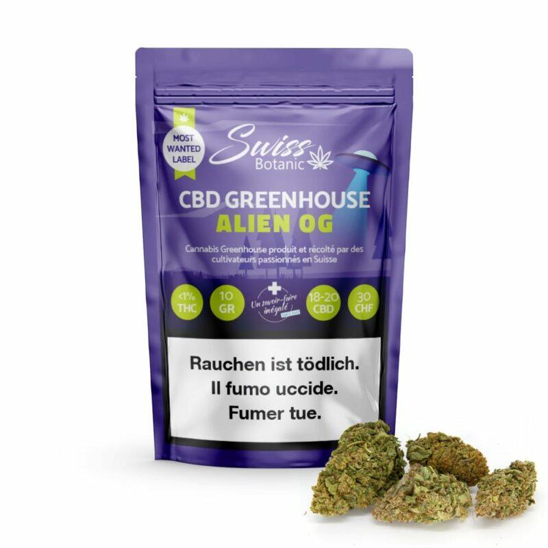 Alien OG CBD Greenhouse Suisse-cbd-suisse